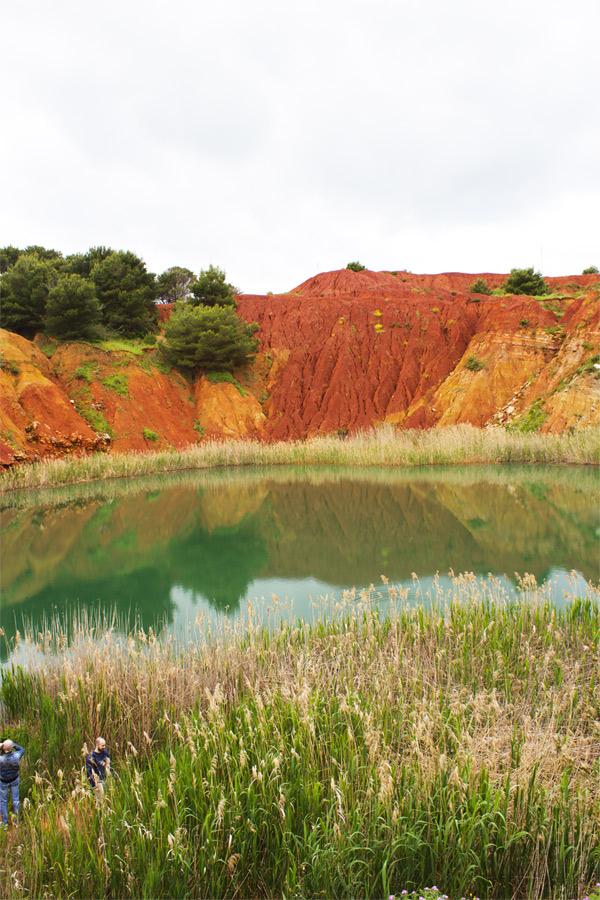 La Cava di Bauxite vicino a Otranto