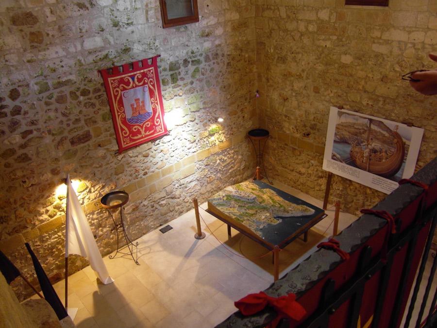 Interni del Castello di castro